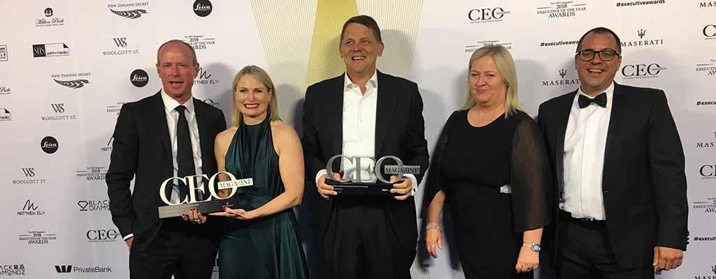 ceo magazine awards group photo