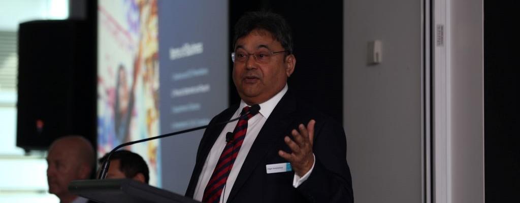 chairman giving speech